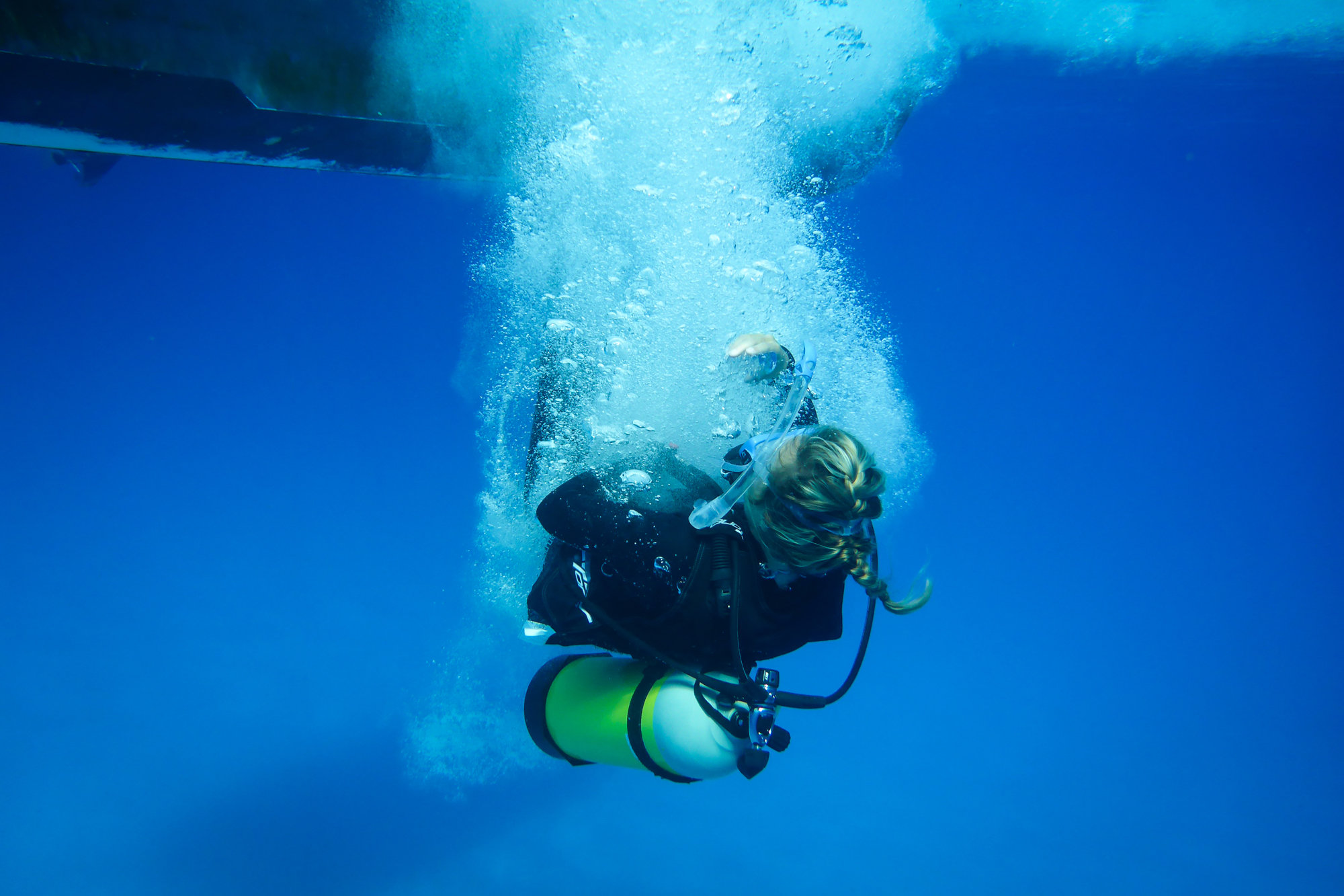 Scuba Diving In The Seychelles